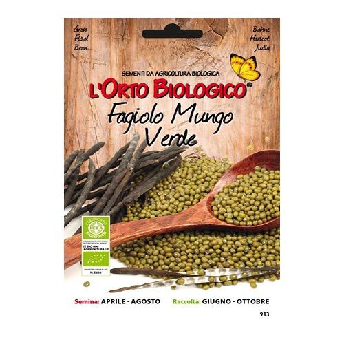 Organski zeleni Mungo grah