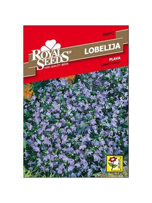 Plava lobelija sjeme cviječa vixa